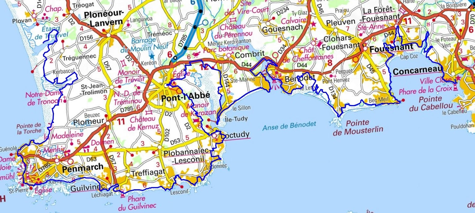 GR34 Walking from Douarnenez to Trunvel (Finistere) 1