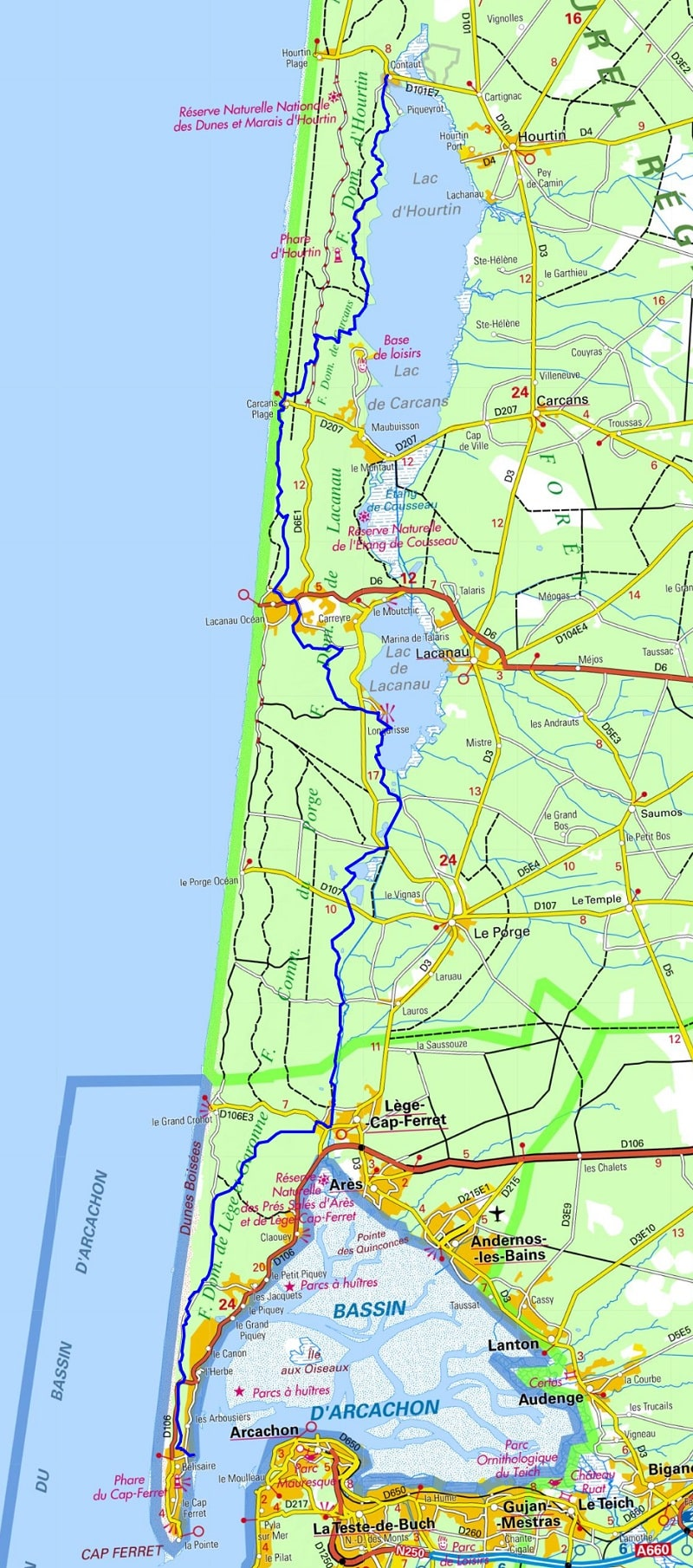 GR8 Walking from Contaud to Belisaire (Gironde)