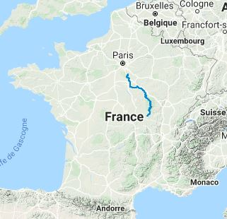 GR13 Hiking from Fontainebleau (Seine-et-Marne) to Signal-de-Mont (Saone-et-Loire) (Full itinerary) 10