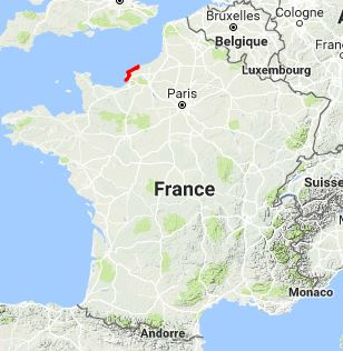 GR21 Walking from Le Havre to Veulettes-sur-Mer (Seine-Maritime)
