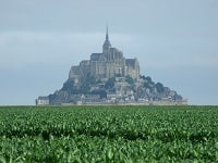 GR22 Hiking from Mortain to Mont-St-Michel (Manche) 7