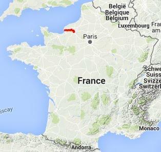 GR2 Walking from St Pierre-de-Manneville to Le Havre (Seine ...
