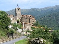 GR36 Hiking from Sournia to Bourg-Madame (Pyrenees-Orientales)