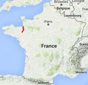 Gr39 Walking From Mont St Michel Manche To Chartres De Bretagne
