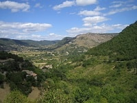 GR42 Hiking from Boffres to St Montan (Ardeche)