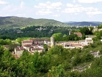 GR4 Hiking from Loubaresse (Ardeche) to Mondragon (Vaucluse) 6