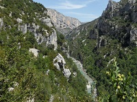 GR4 Hiking from Simiane-la-Rotonde to Rougon (Alpes-de-Haute-Provence)