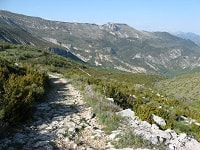 GR4 Hiking from Rougon (Alpes-de-Haute-Provence) to Grasse (Alpes-Maritimes)
