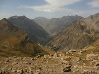 GR54 Hiking on the Tour of Oisans and Ecrins Massifs (Isere, Hautes-Alpes)