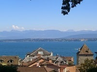 GR5 Hiking from Montperreux (Doubs) to Nyon (Leman Lake-Switzerland)