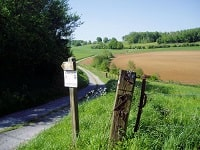 GR654 Walking from Moulin-Manteau (Belgium) to Reims (Marne)