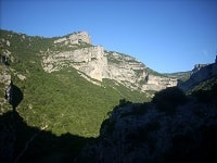 GR74 Hiking from St Maurice Navacelles to Saint Privat (Herault)