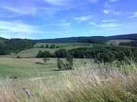GR7 Hiking from Darney (Vosges) to Langres (Haute-Marne)