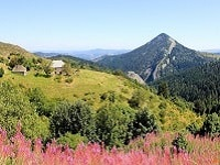 4 GR7 Hiking from Charousse Pass (Haute-Loire, Ardeche) to La Bastide-Puylaurent (Lozere)