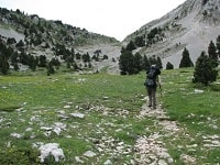 GR91 Hiking from St-Nizier-du-Moucherotte (Isere) to Valdrome (Drome) 7